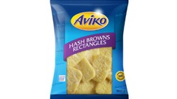 Hash brown rectangular packshot